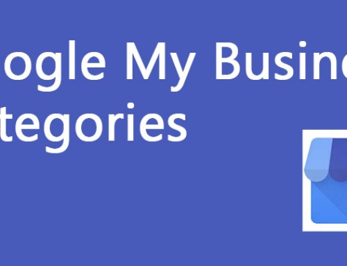 Google My Business Categories List